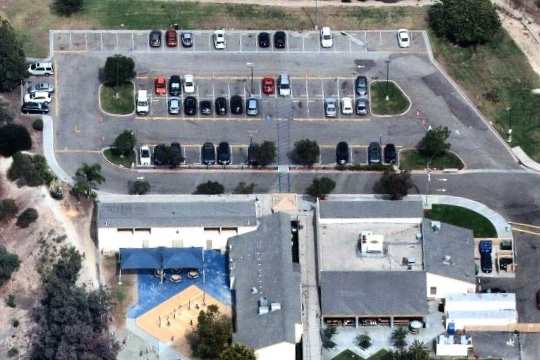 McAuliffe Parking Lot