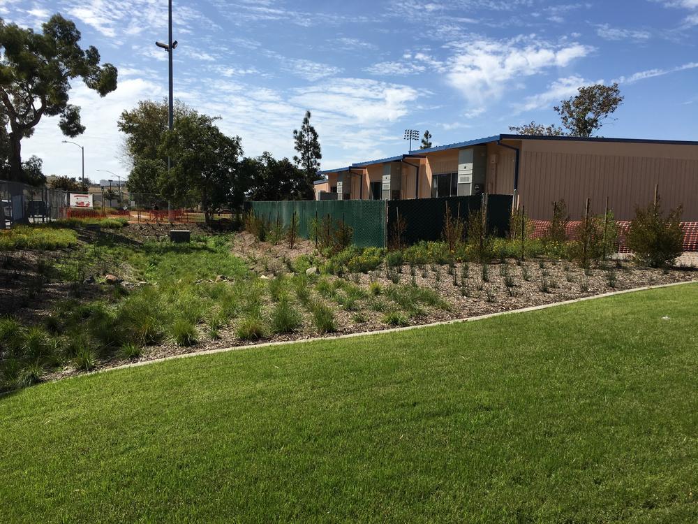 School Classrooms, Playground, & Parking